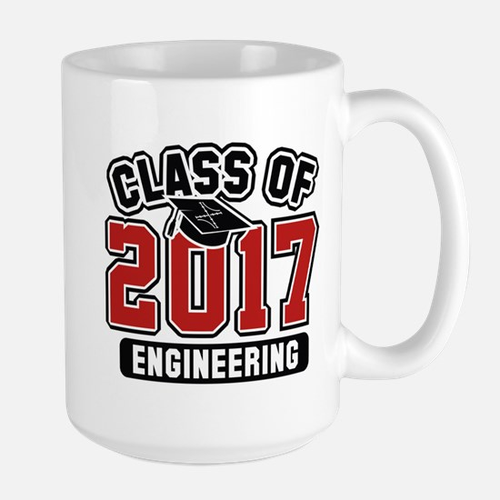 Class Of 2017 Engineering Large Mug