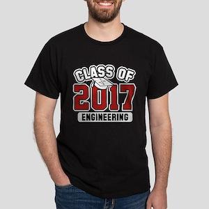 Class Of 2017 Engineering Dark T-Shirt