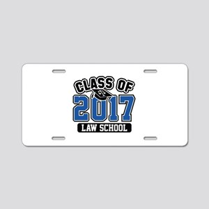 Class Of 2017 Law Aluminum License Plate