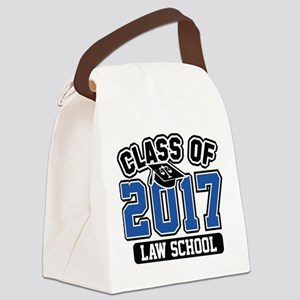Class Of 2017 Law Canvas Lunch Bag