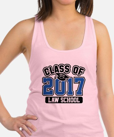 Class Of 2017 Law Racerback Tank Top