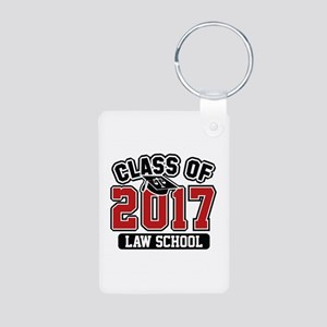 Class Of 2017 Law Aluminum Photo Keychain