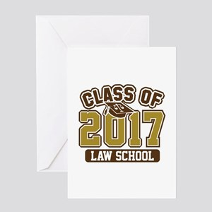 Class Of 2017 Law Greeting Card