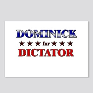 DOMINICK for dictator Postcards (Package of 8)