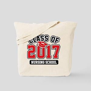 Class Of 2017 Nursing Tote Bag
