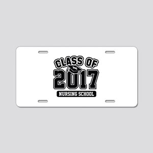 Class Of 2017 Nursing Aluminum License Plate