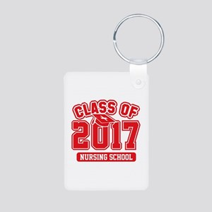 Class Of 2017 Nursing Aluminum Photo Keychain