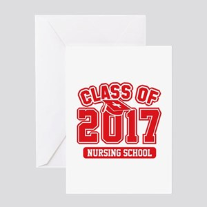 Class Of 2017 Nursing Greeting Card