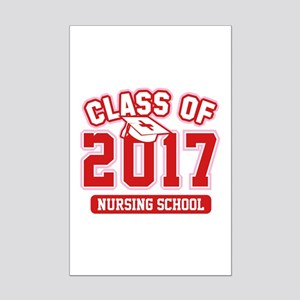 Class Of 2017 Nursing Mini Poster Print