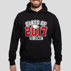 Class Of 2017 Hoodie (dark)