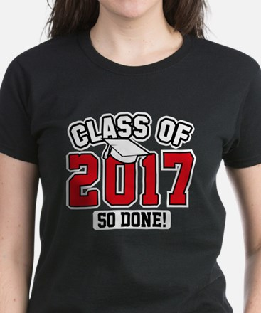 Class Of 2017 Women's Dark T-Shirt
