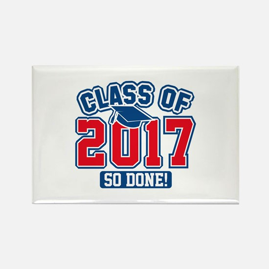 Class Of 2017 Rectangle Magnet