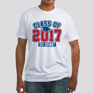 Class Of 2017 Fitted T-Shirt