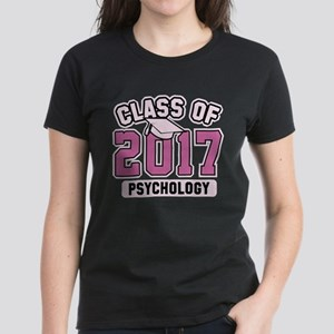Class Of 2017 Psychology Women's Dark T-Shirt