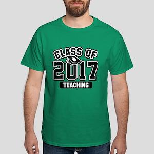 Class Of 2017 Teaching Dark T-Shirt
