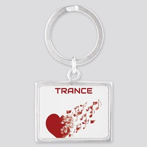 I am Trance Heart Keychains