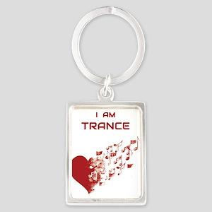 I am Trance Heart Keychains