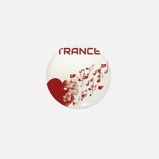 I am Trance Heart Mini Button (100 pack)