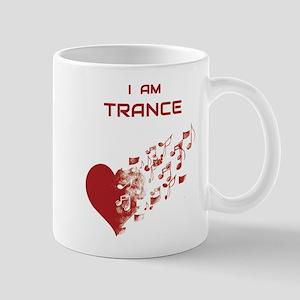 I am Trance Heart Mugs
