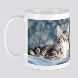 Maine Coon Tabby Mug