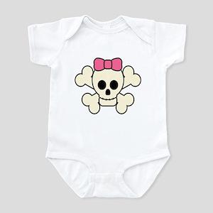 Girly Skull Infant Bodysuit
