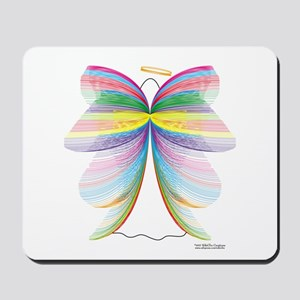 Angel with Wings Mousepad
