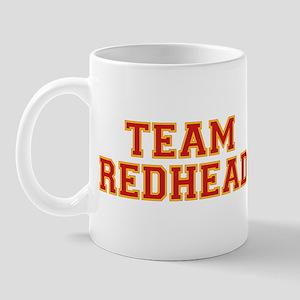 Team Redhead - Red/Gold Mug
