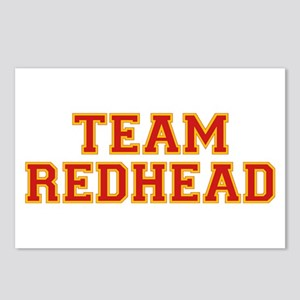 Team Redhead - Red/Gold Postcards (Package of 8)