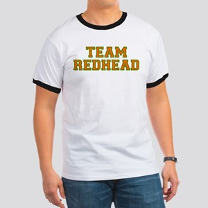 Team Redhead - Orng/Grn Ringer T