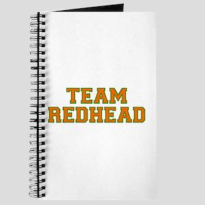 Team Redhead - Orng/Grn Journal