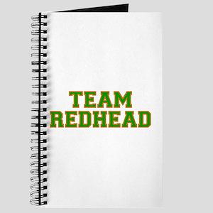 Team Redhead - Grn/Orng Journal