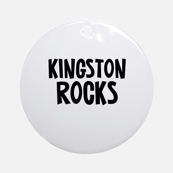 Kingston Rocks Ornament (Round)