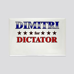 DIMITRI for dictator Rectangle Magnet