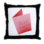 Dear Santa, Fuck Off Throw Pillow