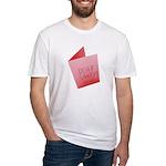 Dear Santa, Fuck Off Fitted T-Shirt