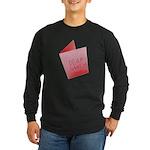 Dear Santa, Fuck Off Long Sleeve Dark T-Shirt
