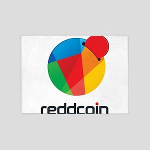 Reddcoin / REDD Logo 5'x7'Area Rug