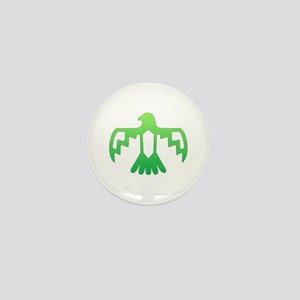Green Thunderbird Mini Button