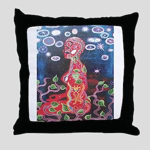 Cosmic Intercourse Throw Pillow
