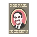 Ron Paul is Creepy Mini Poster Print
