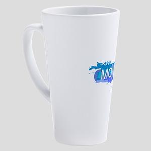 Montana Design 17 oz Latte Mug