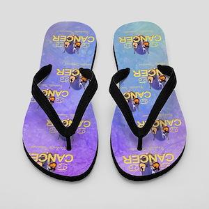 Nashville Cancer Flip Flops