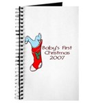 Baby's First Christmas 2007 Journal