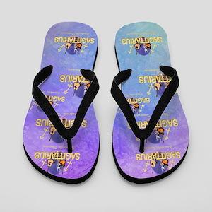 Nashville Sagittarius Flip Flops