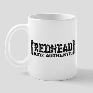 Redhead Tattered - 100% Athntc Mug