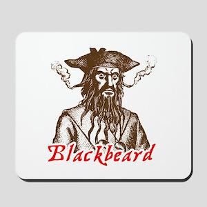 Red Blackbeard Mousepad