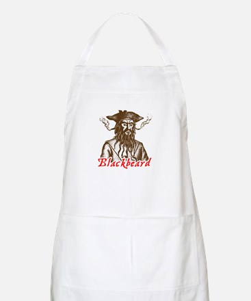 Red Blackbeard BBQ Apron