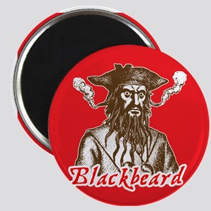 Red Blackbeard Magnet