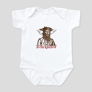 Red Blackbeard Infant Bodysuit