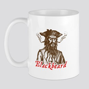 Red Blackbeard Mug
